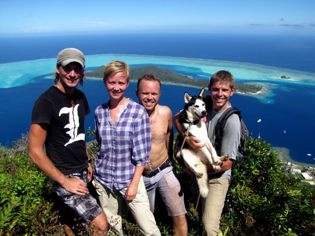 Partying on Bora Bora