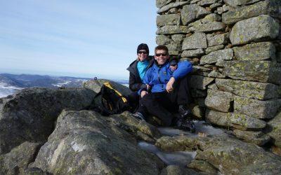 A winter trek to Bynuten