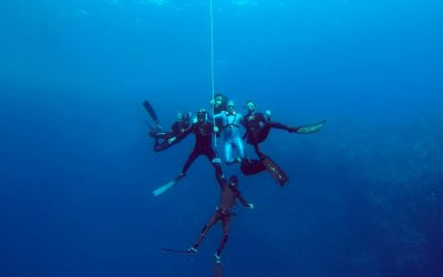 Freediving in Dahab, Egypt
