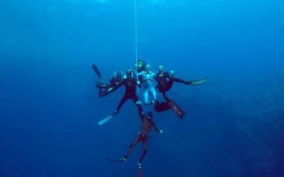 Freediving in Dahab, Egypt