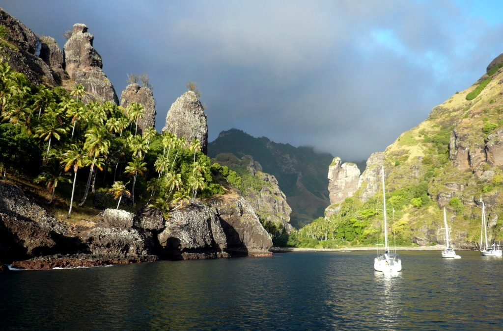 Sailing the Marquesas