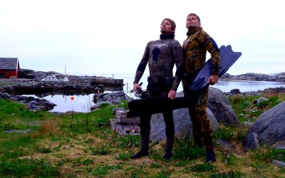 Freediving around Stavanger