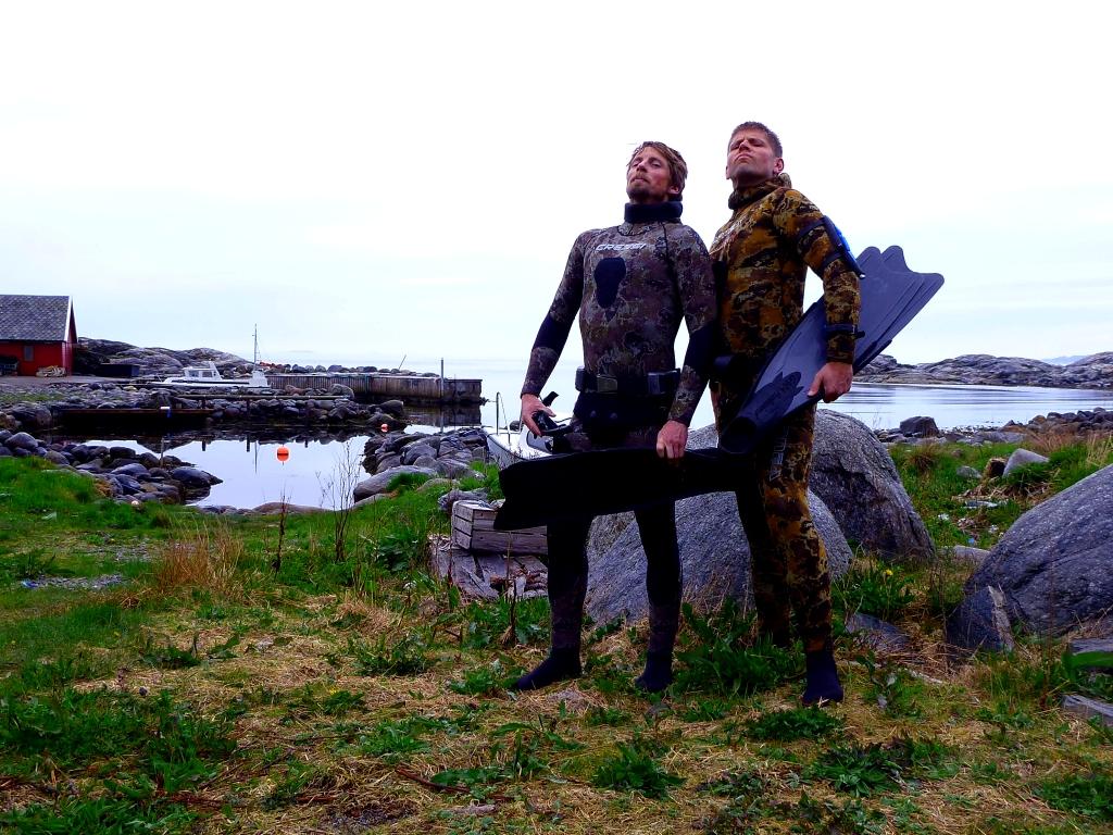 Freediving around Stavanger