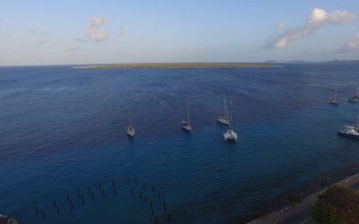 Relaxing on Bonaire